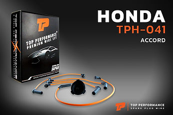 สายหัวเทียน TPH-041 - HONDA ACCORD - TOP PERFORMANCE JAPAN - ฮอนด้า แอคคอร์ด