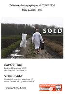 arthy mad, arthy, série solo, exposition, librairie autours des mots, artiste photographe, tableau