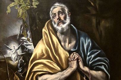 1. El Greco - The Tears of Saint Peter (
