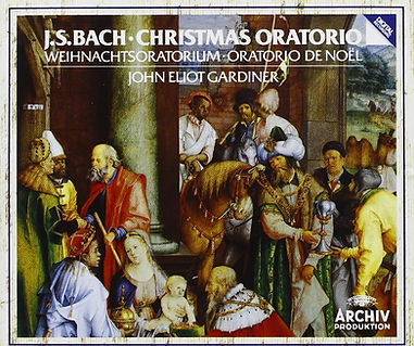 CD Cover for Gardiner's recording of Bach's Christmas Oratorio