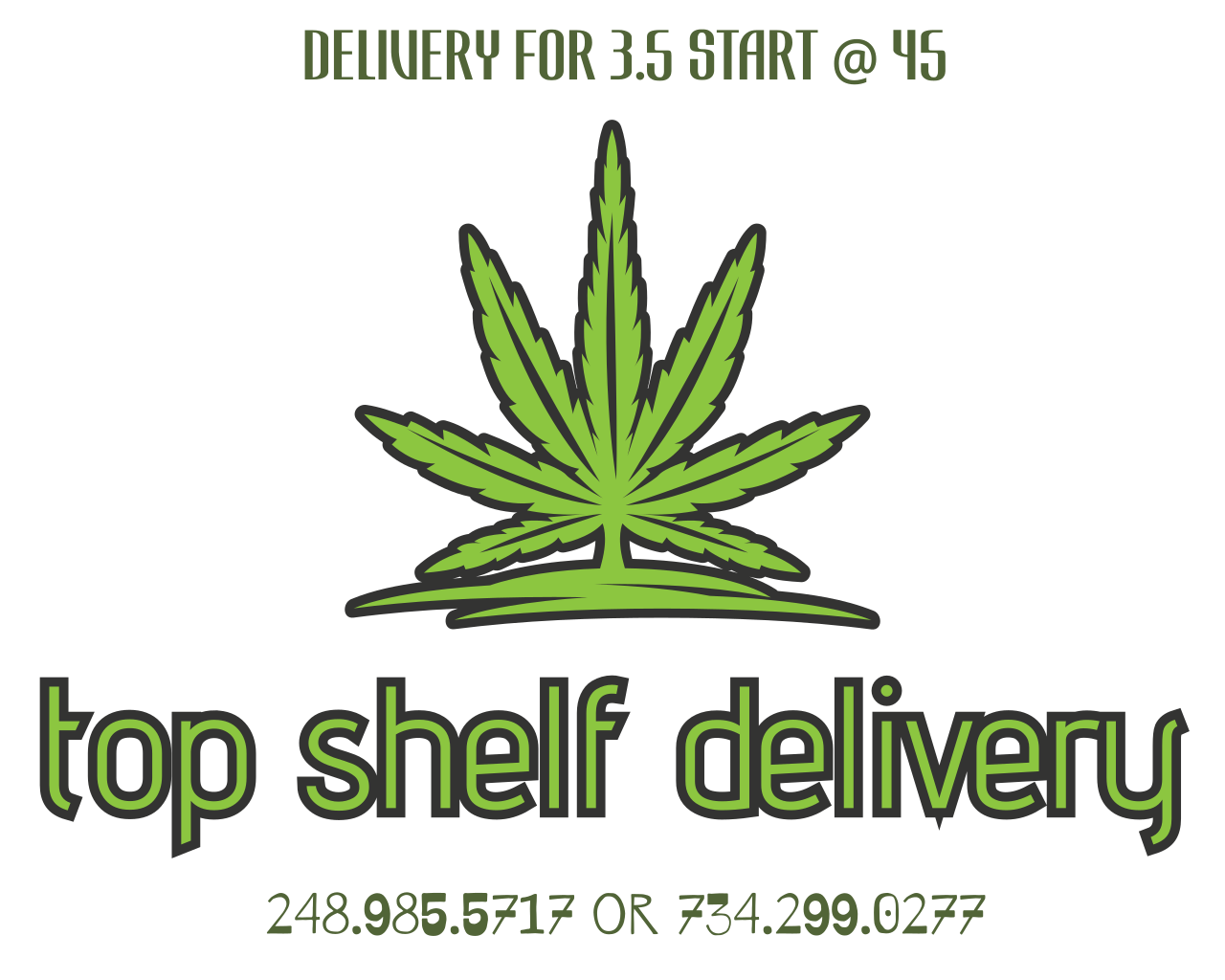 TOP SHELF DELIVERY
