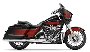 CVO Street Glide - Sunset Orange & Sunse