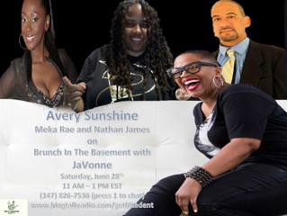 Avery Sunshine joins us for Brunch In The Basement With JaVonne