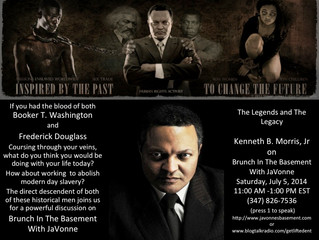 The Legends and The Legacy-Descendent of Frederick Douglass and Booker T. Washington