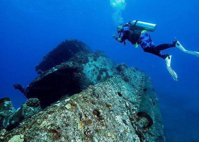 Wreck SCUBA Diving