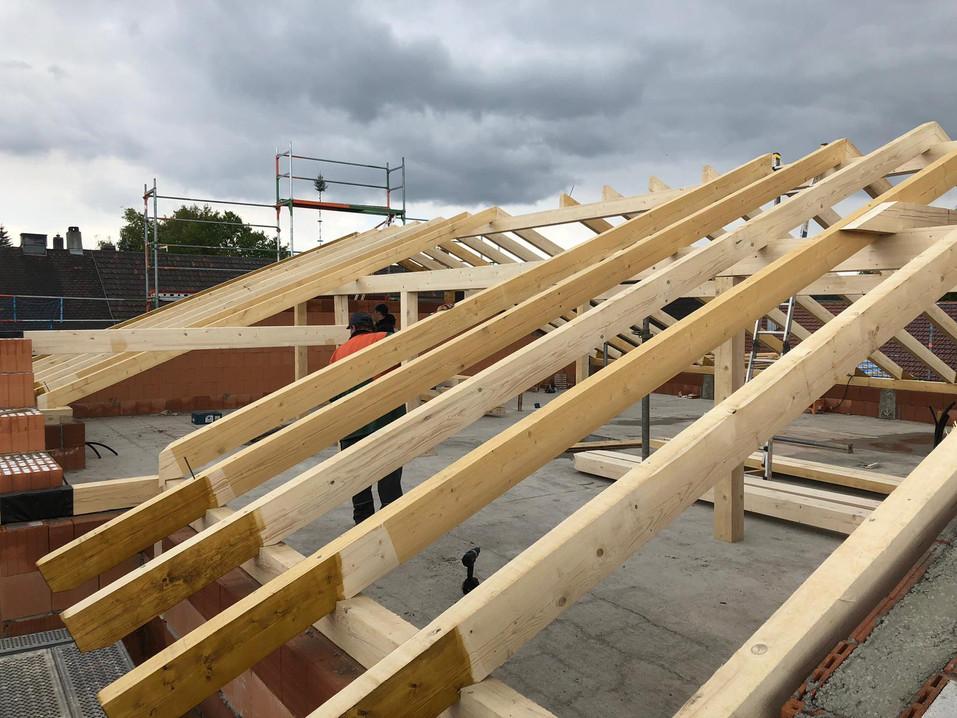 Neubau Satteldach