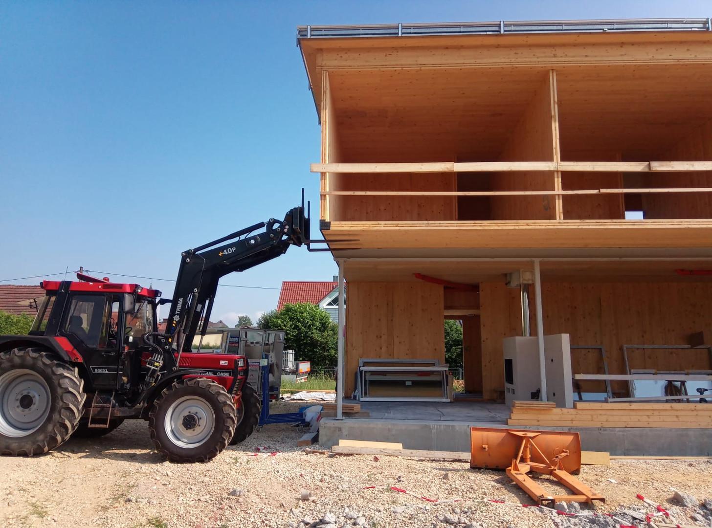 Brettsperrholz Haus