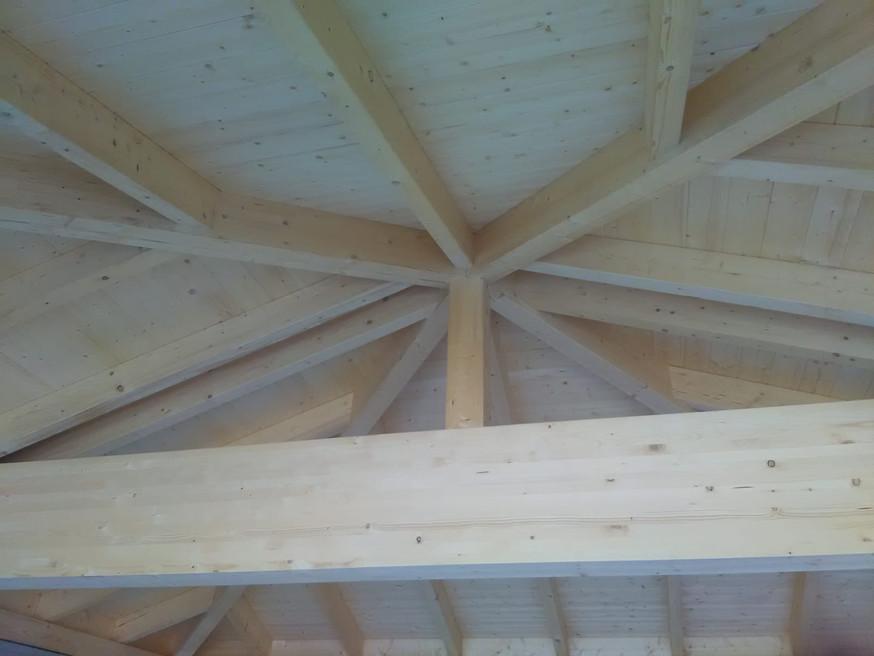 Carport Dachstuhl