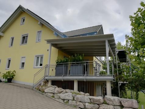 Terrassenüberdachung Neubau