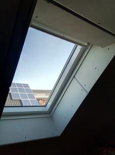 Dachbodenausbau mit Dachflächenfenster