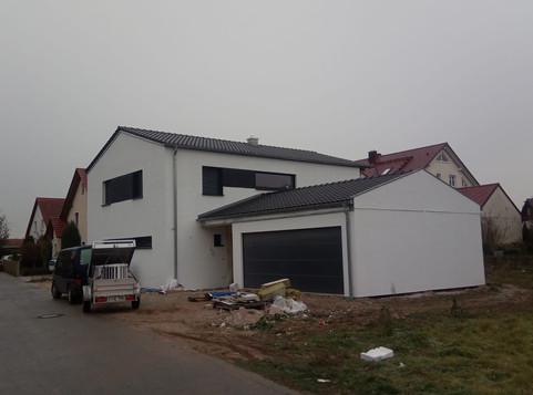 Satteldach in Oberhinkofen