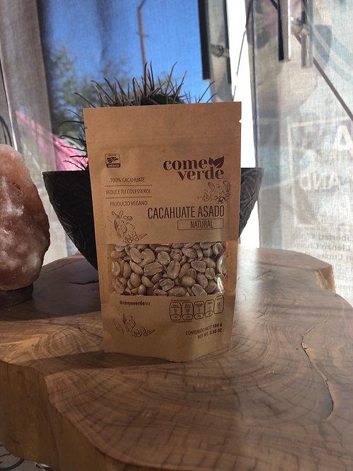 Cacahuate asado natural 100 g
