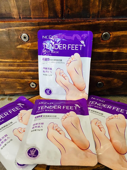 Tender feet foot mask