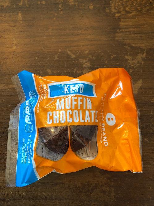 Muffin chocolate keto
