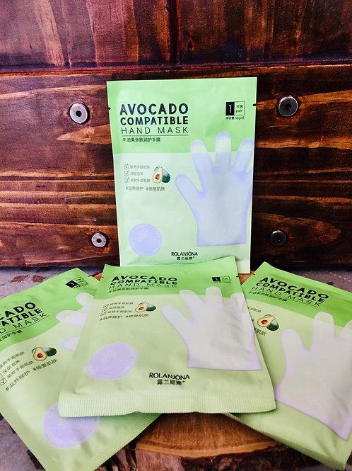 Avocado compatible hand mask