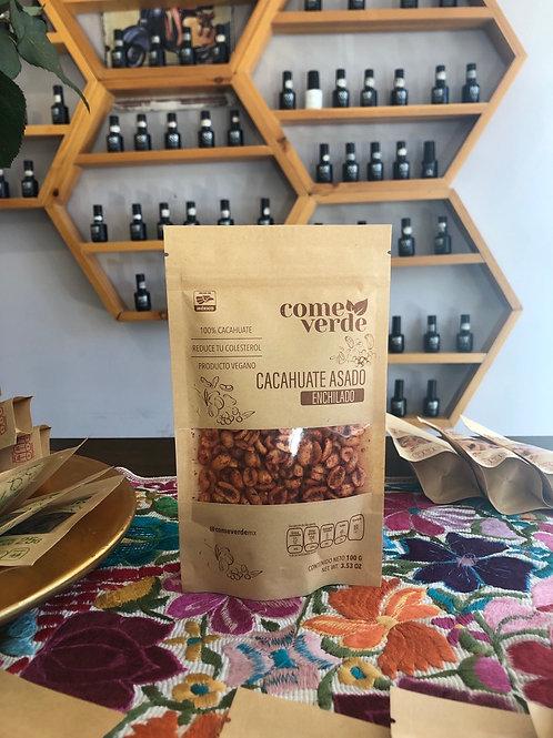 Cacahuate asado enchilado 100 g