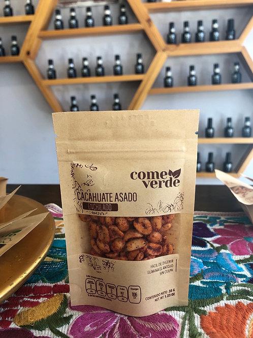 Cacahuate asado enchilado 35 g