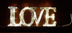 LOVE - with lights