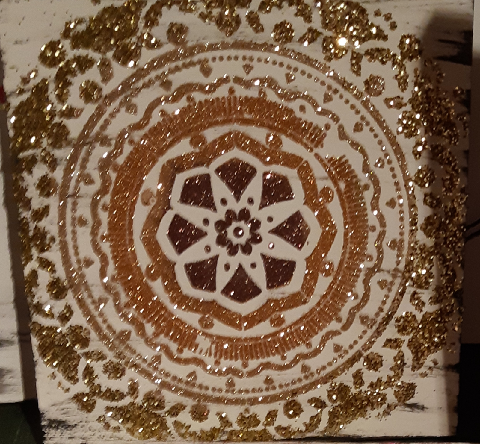 Mandala - golds