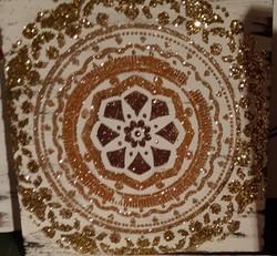 Mandala - golds