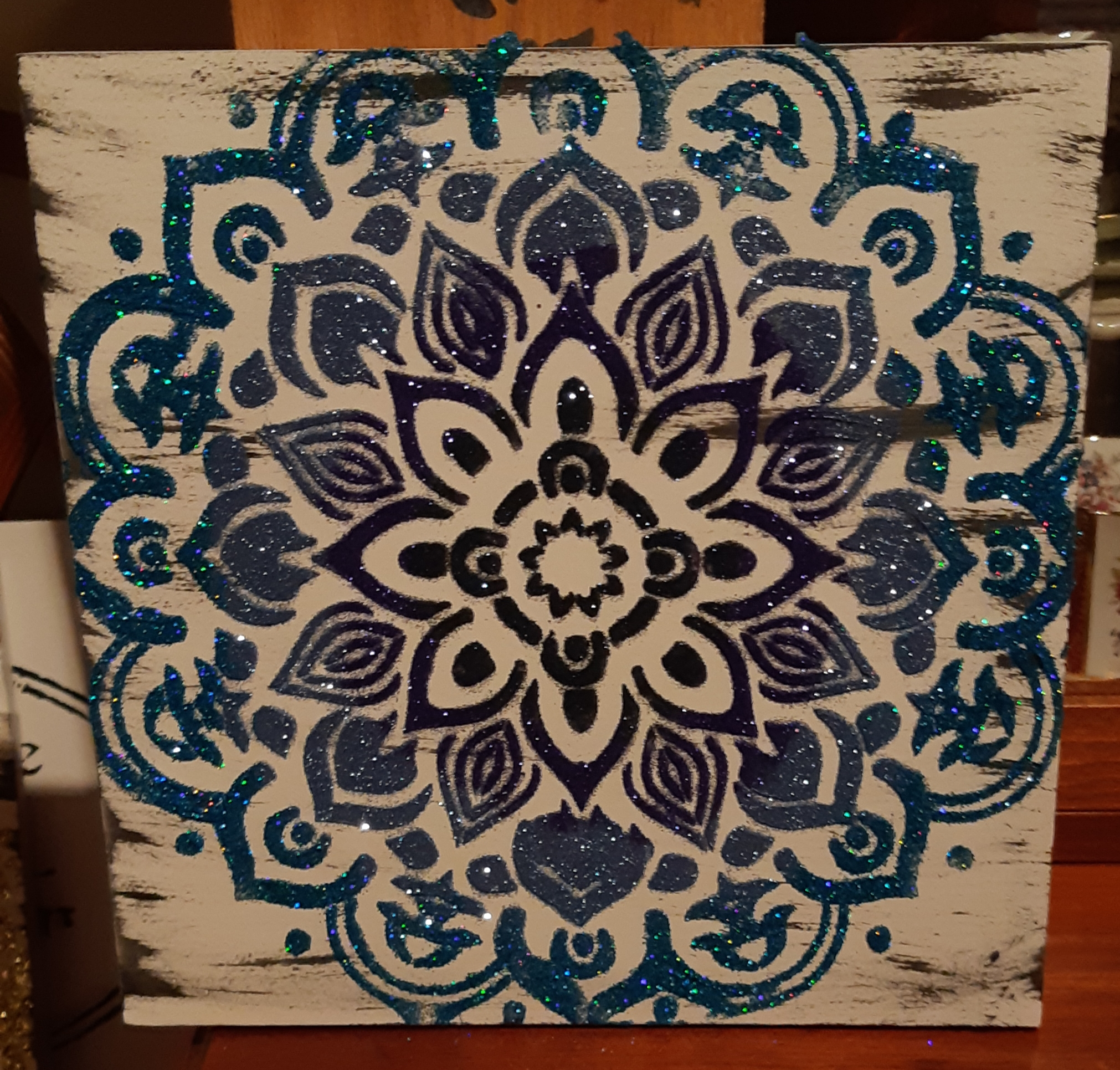 Mandala - blues