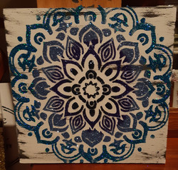 Mandala - blues