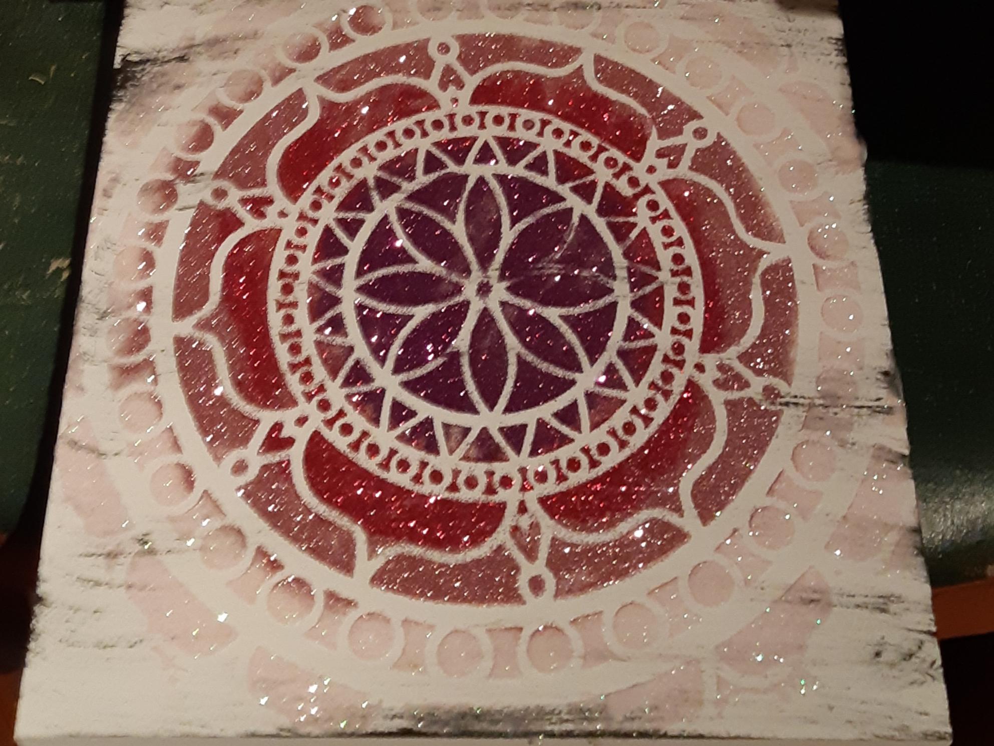 Mandala - pinks