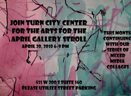 April Art Stroll Friday!