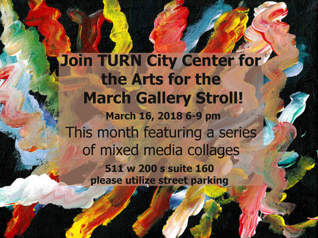 March Art Gallery Stroll Tonight