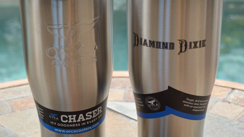 Stainless Steel Diamond Dixie ORCA Chaser