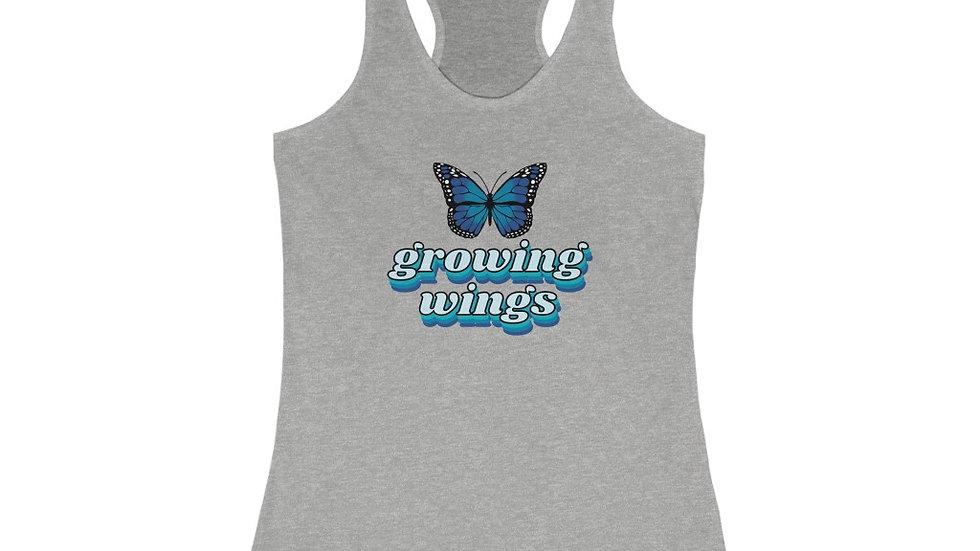 Growing Wings Women's Racerback Tank