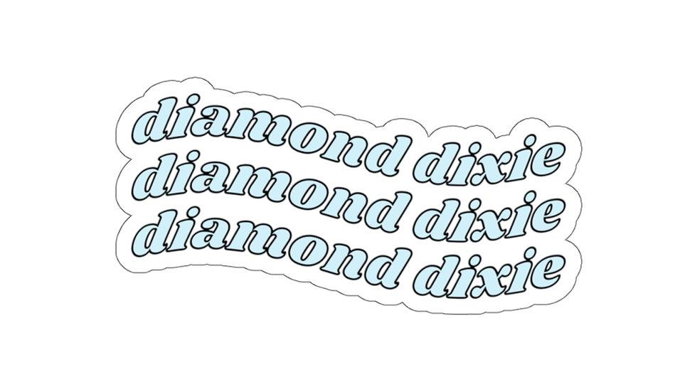 Diamond Dixie Vinyl Sticker