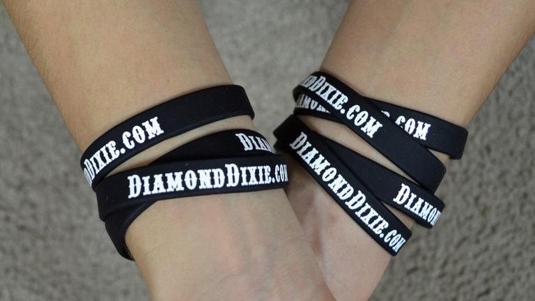Diamond Dixie wristbands