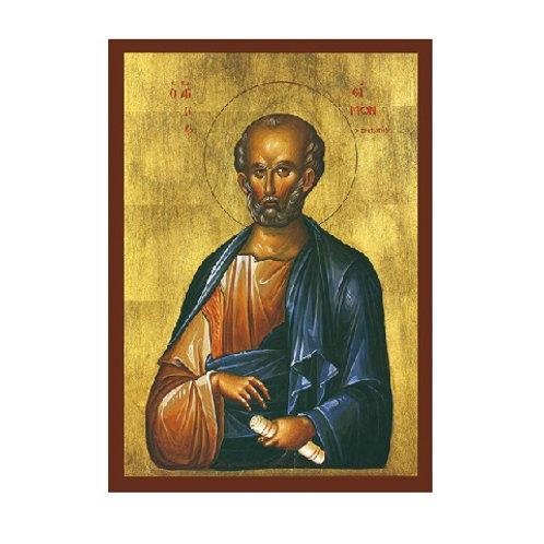 """St. Simon 3"""" x 4"""""""