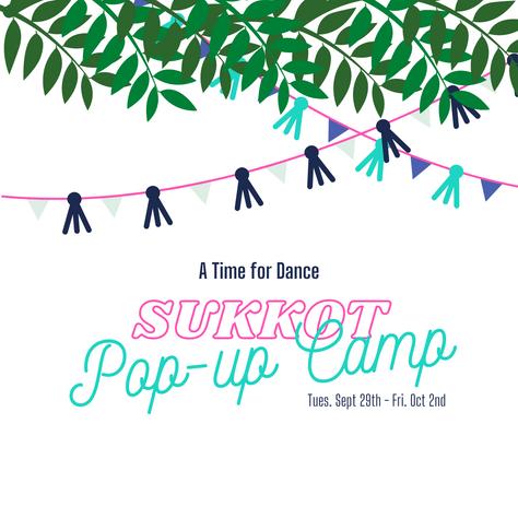 Sukkot Pop-Up Camp 2020!