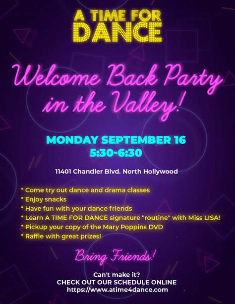 Hey, Valley! Welcome Back (Party)!