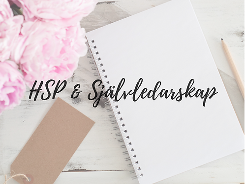 HSP & Självledarskap- Coaching Online