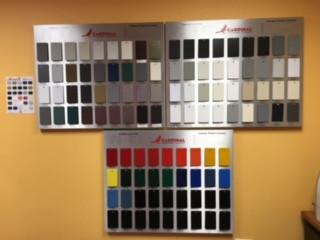 Powder Color Samples