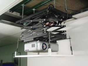 Ceiling Projection Scissors