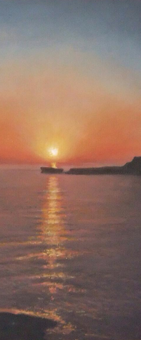Light is the most important element in a painting. No more so than on Gozo.