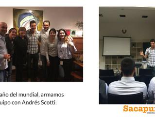 Conocé nuestro taller mundialista con Andrés Scotti