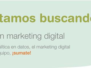 Buscamos analista en marketing digital