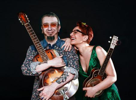Italian duo Veronica Sbergia & Max De Barnardi playing Friday and Saturday