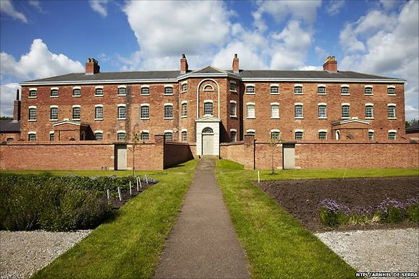 The National Trust Workhouse situated on teh edge of Southwell