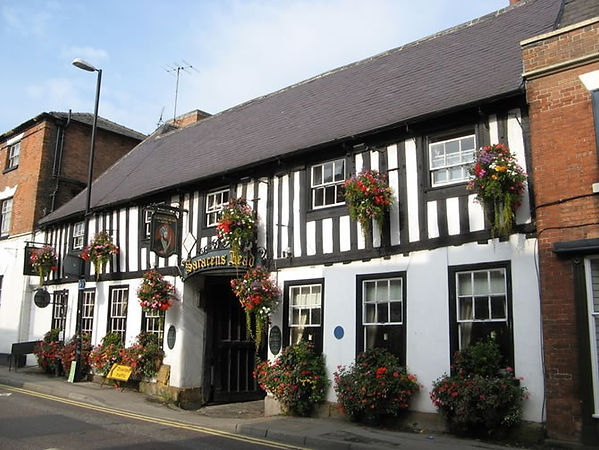 The Sarcen's Head Hotel, Southwell, whre King Charles I was arrested