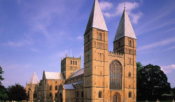 The stunning Southwell Minster