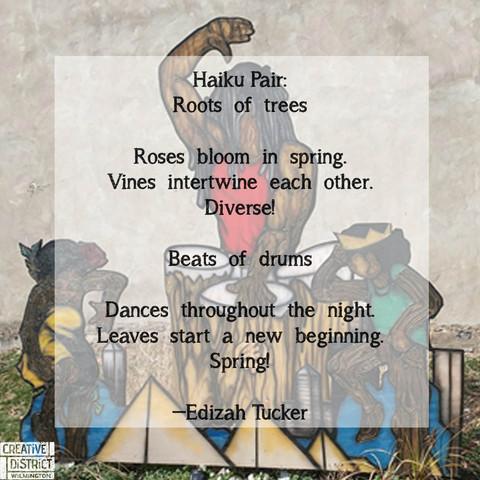 Ekphrasis Poetry inspired by the 7SAB by: University of Delaware Associate in Arts Students