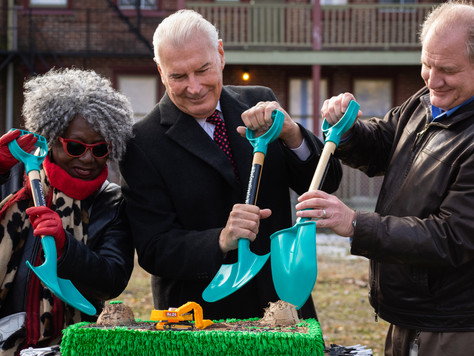 NEW COMMUNITY GREENSPACE PROJECT LAUNCHES IN CREATIVE DISTRICT