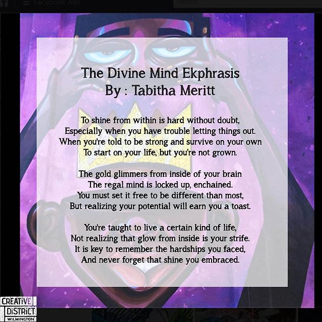 Ekphrasis Poetry inspired by the 7SAB by: University of