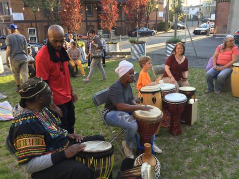 Drumming Circle Kick-Off